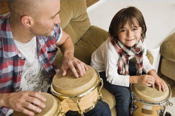Afbeeldingsresultaat voor child bongo lesson